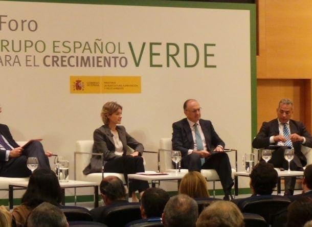 grupo español de crecimiento verde cambio climatico