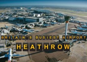 TV program Britain's busiest airport Heathrow