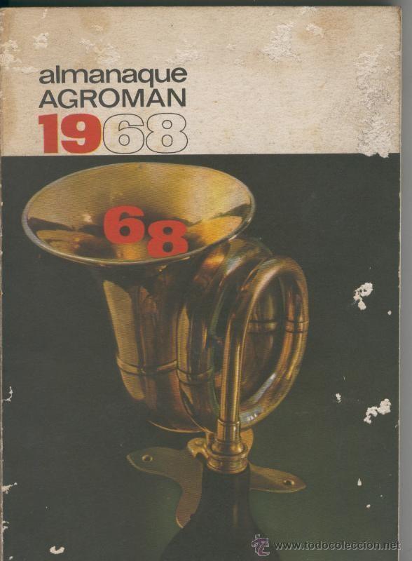 almanaque agroman 1968