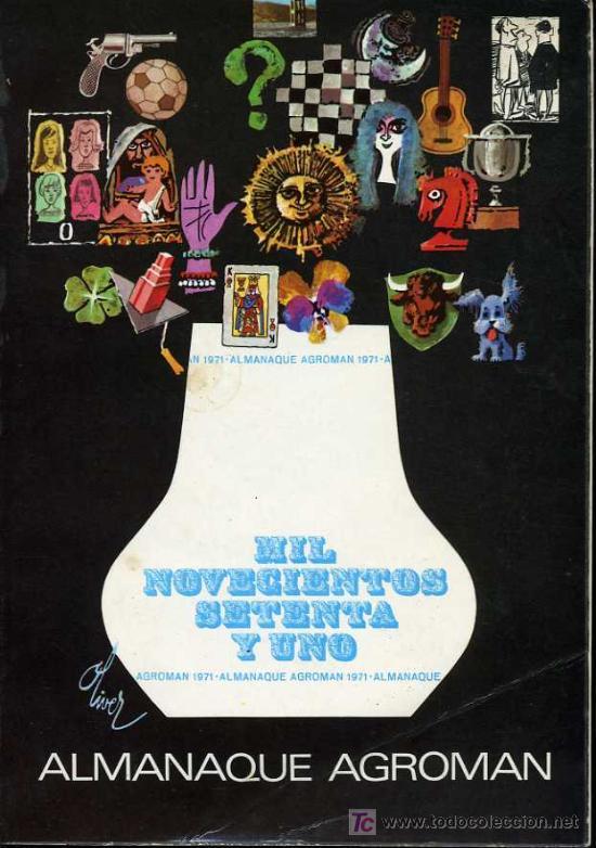 almanaque agroman 1971