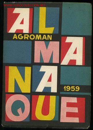 almanaque agroman 1959