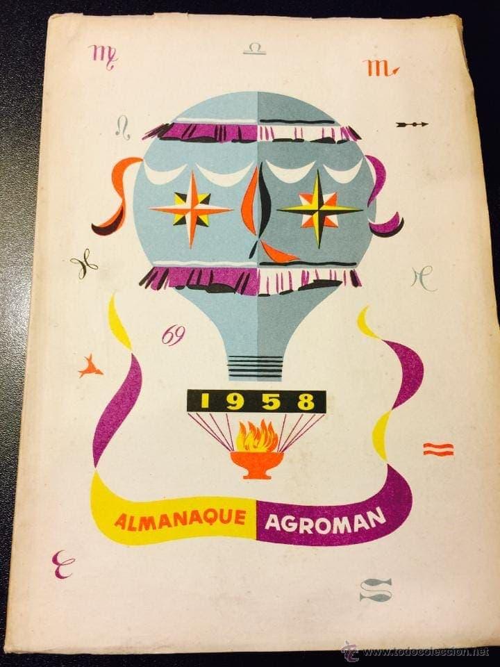 almanaque agroman 1958