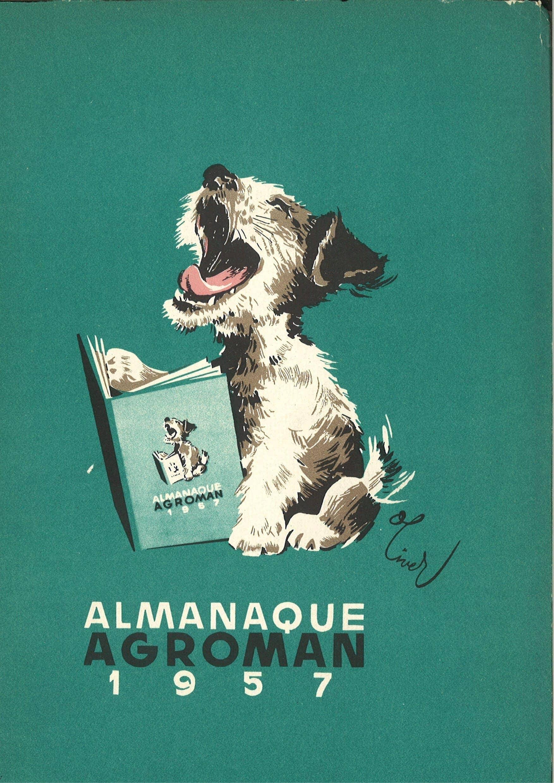 almanaque agroman 1957