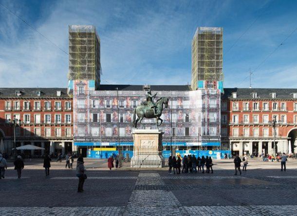 Restauración Casa de la Panaderia de Madrid