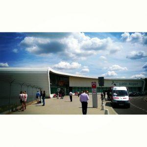 Lublin Airport in Poland, taken by @deniiak