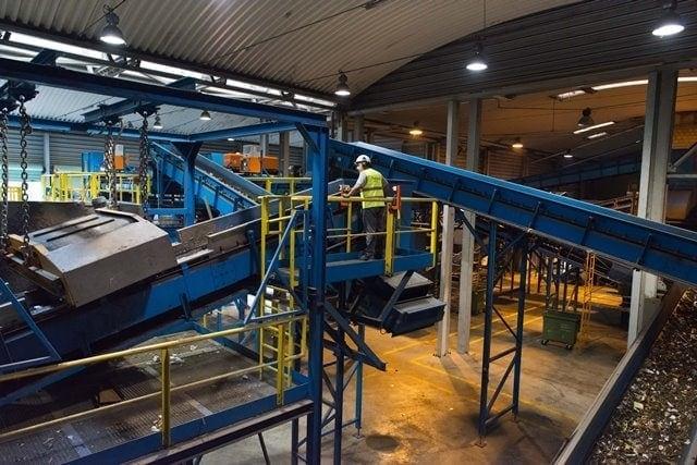 Planta de tratamiento de residuos de ferrovial