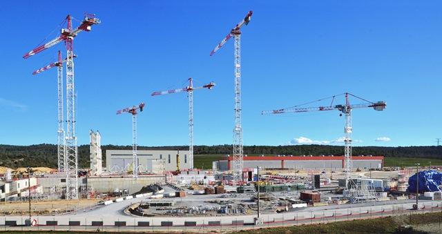 proyecto construcción ITER por Ferrovial