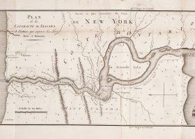 mapa cataratas niagara USA y Canadá unidos por una cometa