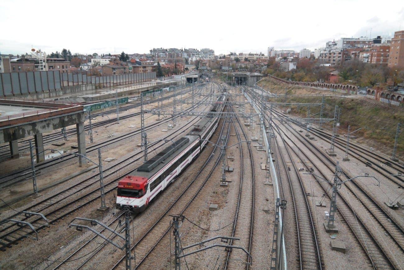 internet de las cosas vias de tren