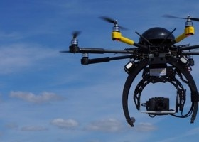 drones en la construccion