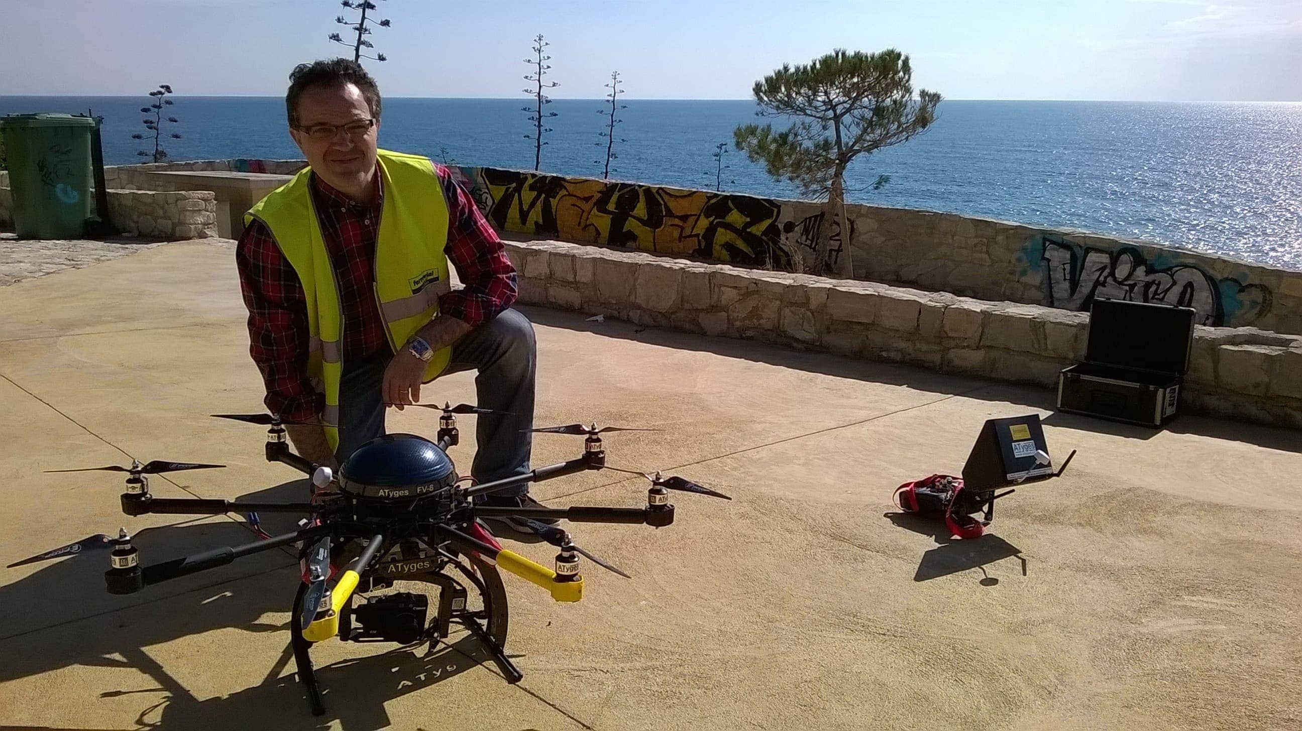 drones en la construción en ferrovial jose luis sanchez vargas