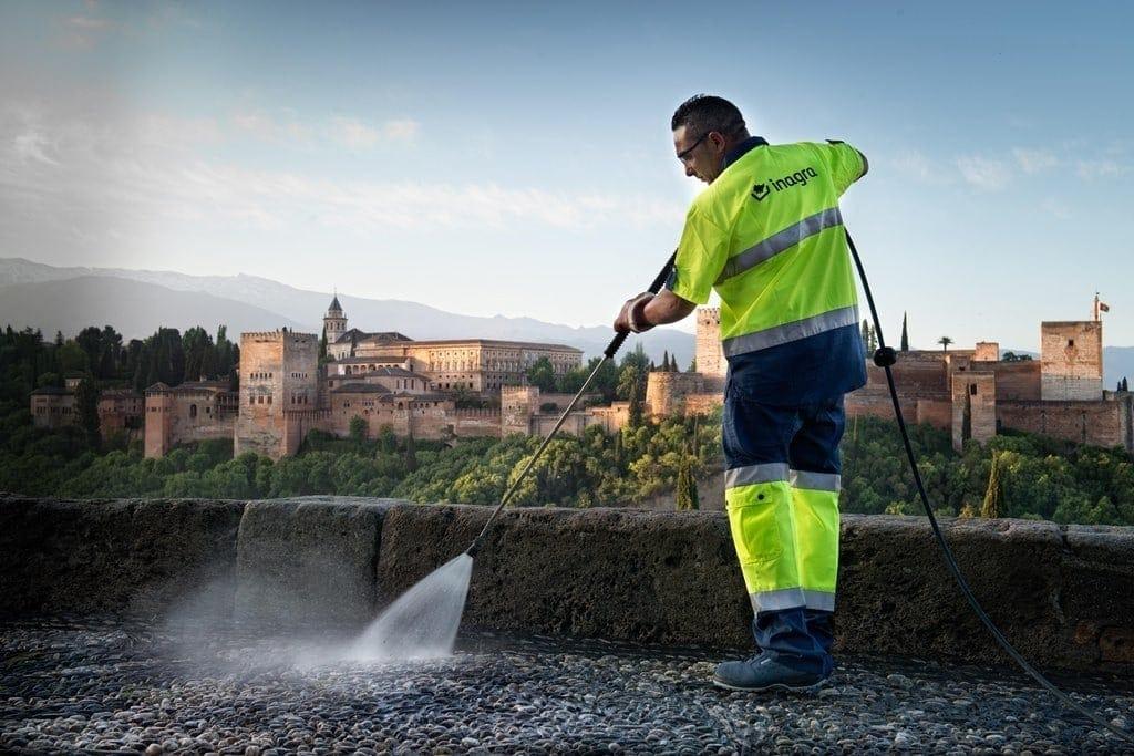 international graduate programme vistas Granada limpieza urbana