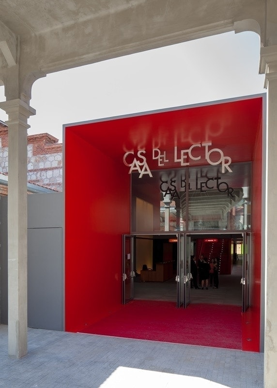 Reconstruccion del Matadero Madrid