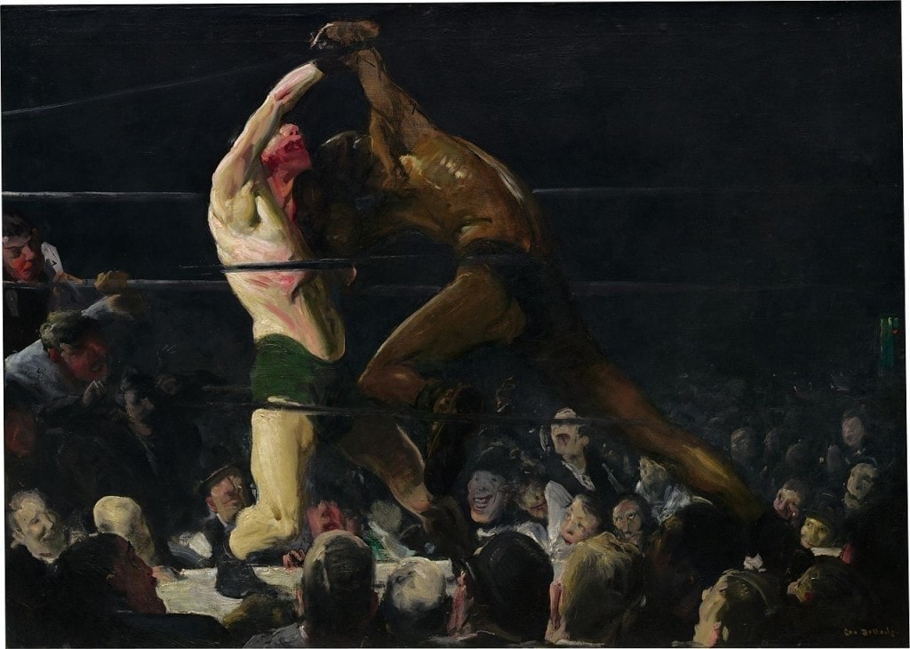 Stag at Sharkey's de George Bellows