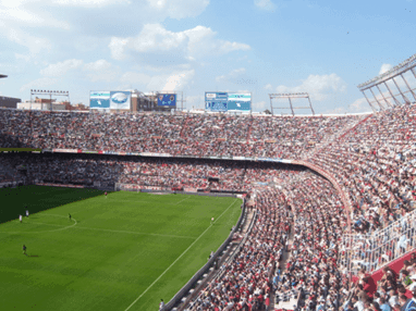 Ramón Sánchez-Pizjuán Stadium in Seville