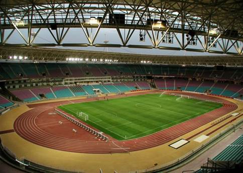 olympic stadium Rades Tunisia