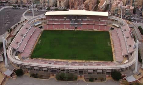 Cármenes Football Stadium in Granada