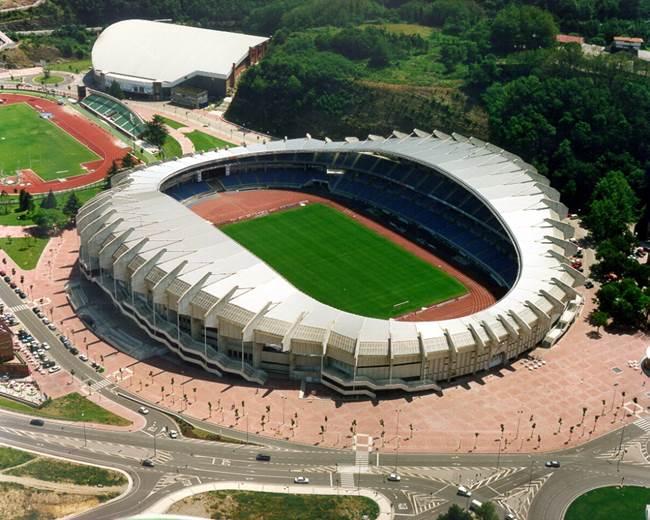 Anoeta Stadium in San Sebastián