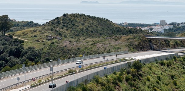 ausol highway malaga ferrovial big data project