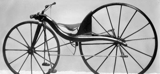 Kirkpatrick macmillans velocipede-ferrovial