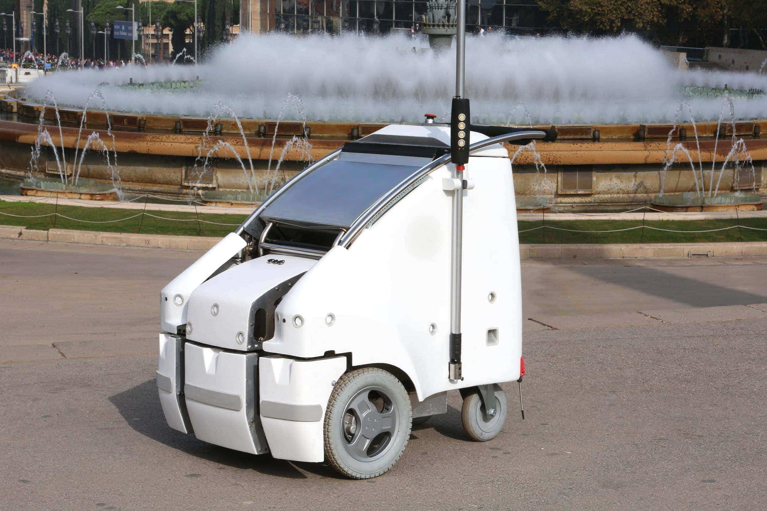 robot to help streets cleaners