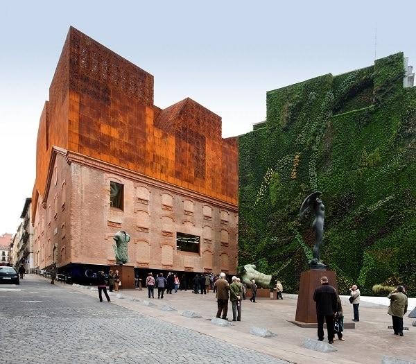 Caixa forum madrid  jardines verticales