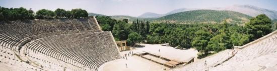 Vista de orquesta teatro