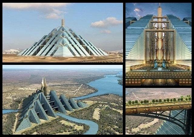 Ziggurat Pyramid edificio Dubai