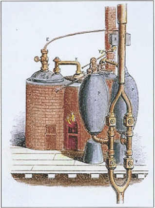Dia mundial de agua- primera máquina de agua