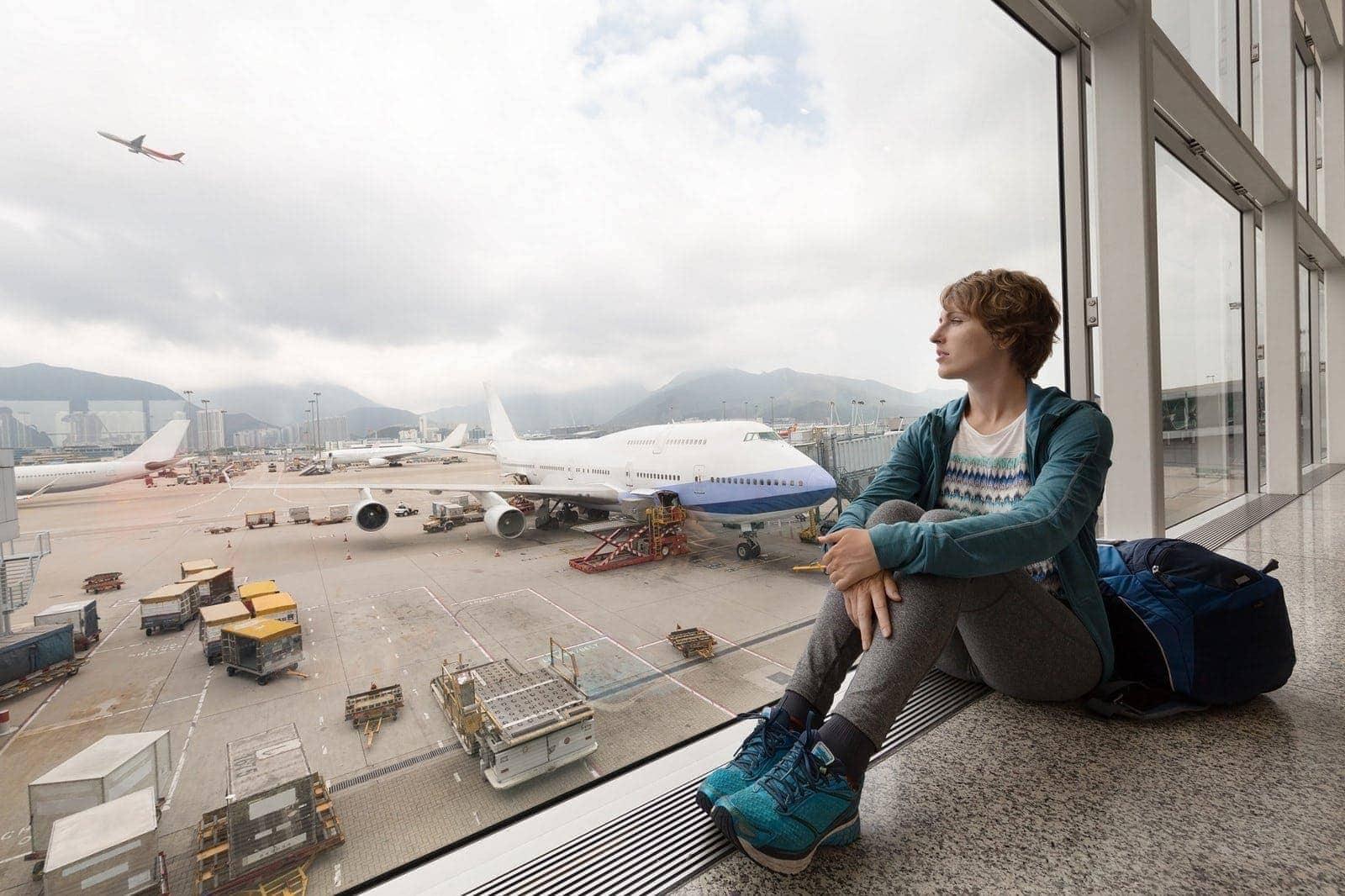 Airport passenger flight