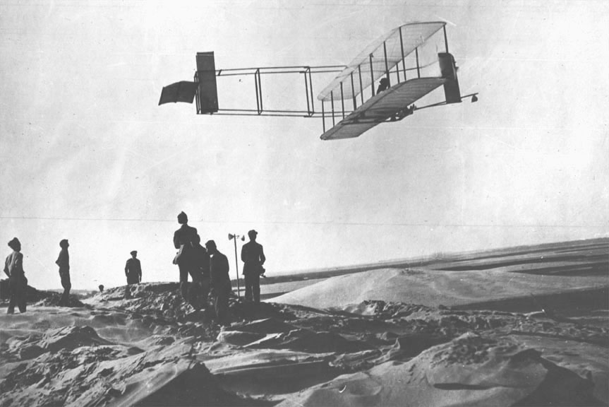 First flights with aircraft