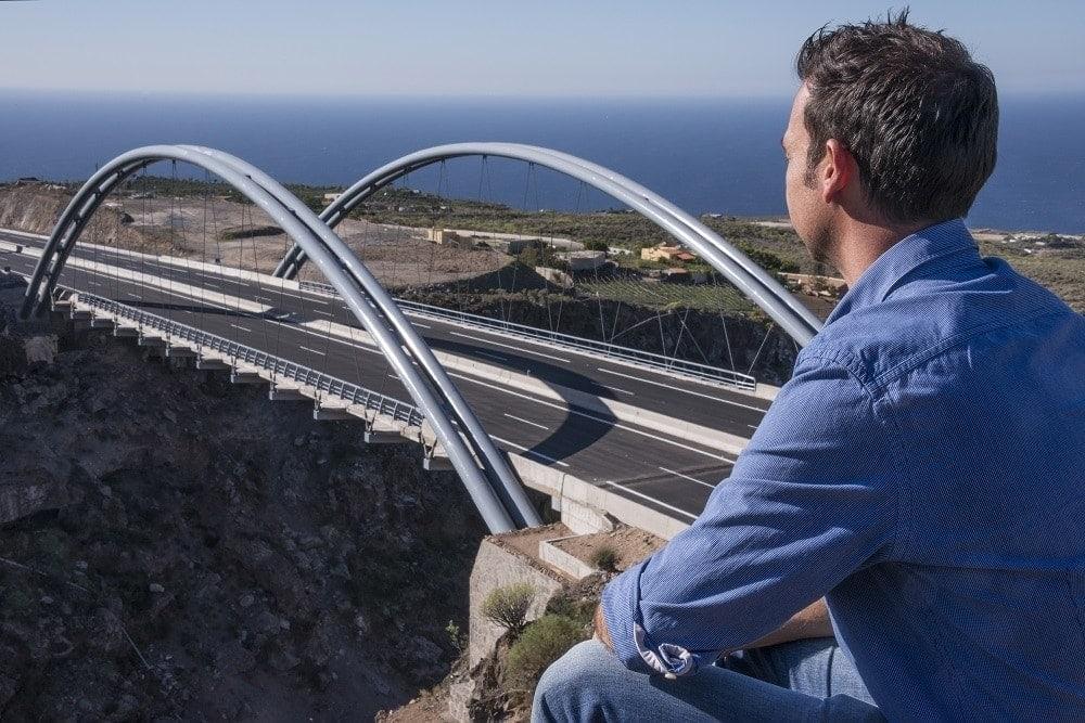 Viaducto Barranco de Erques ferrovial