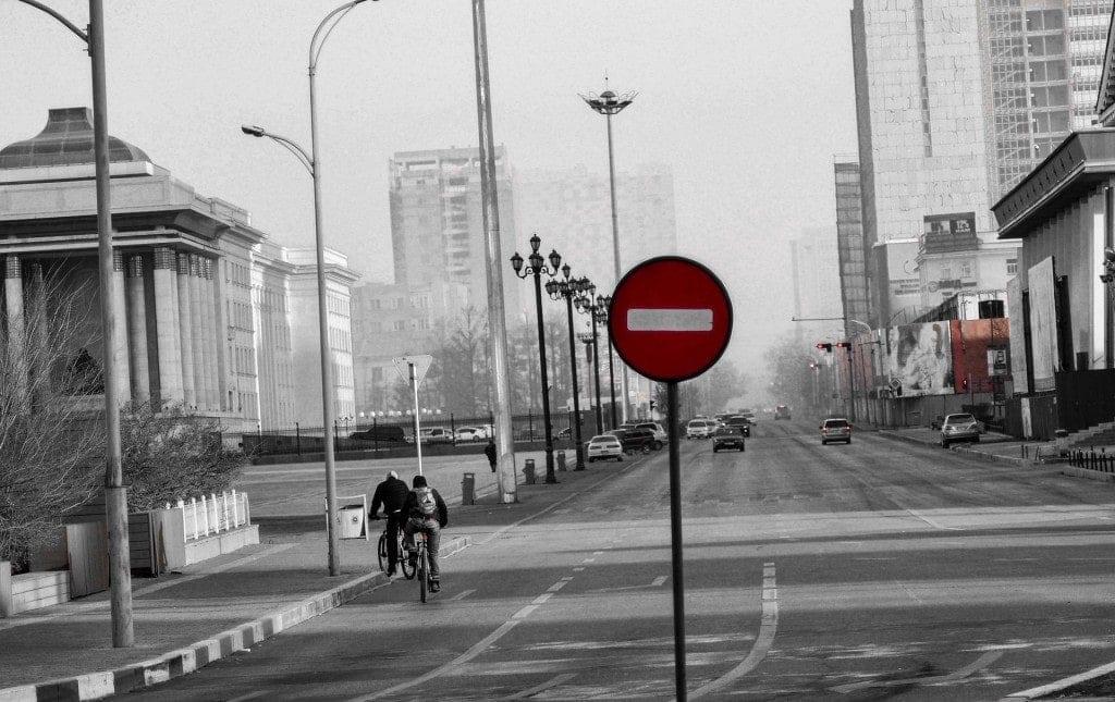 calle ciudad big data para control de contaminación