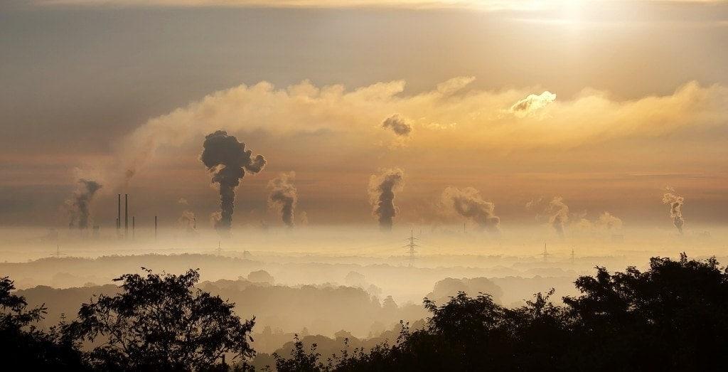 cielo polución big data para control de contaminación