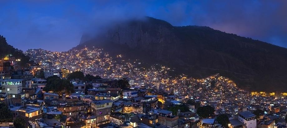 Vertical cultivation favela rocinha de brasil