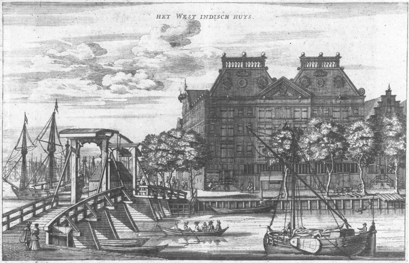 artistic engraving amsterdam city