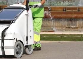 innovación robot a1a3 limpieza fuentes de montjuic barcelona