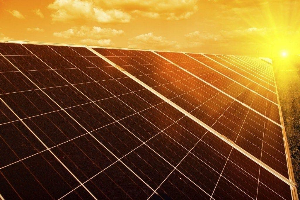 reduce power consumption solar plants
