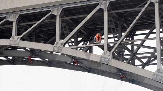 uses of drones amey bridge inspection