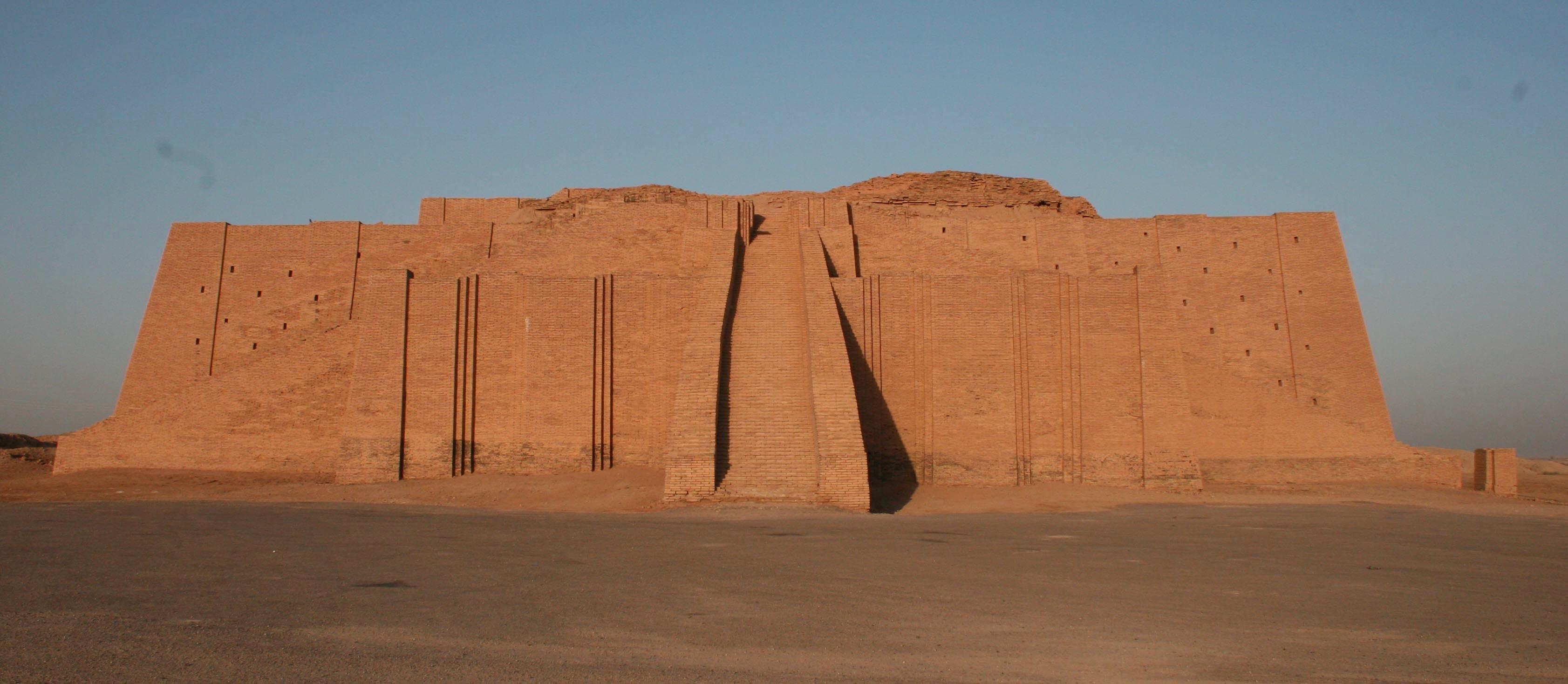 futuro de la construcción Ziggurat de UR