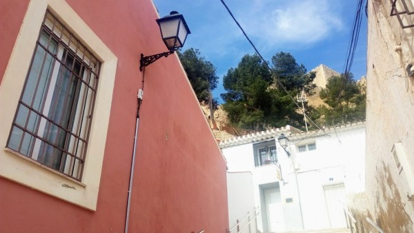 medieval cities streets buildings spain