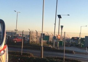 vehículos autonomos y electricos pod en heathrow