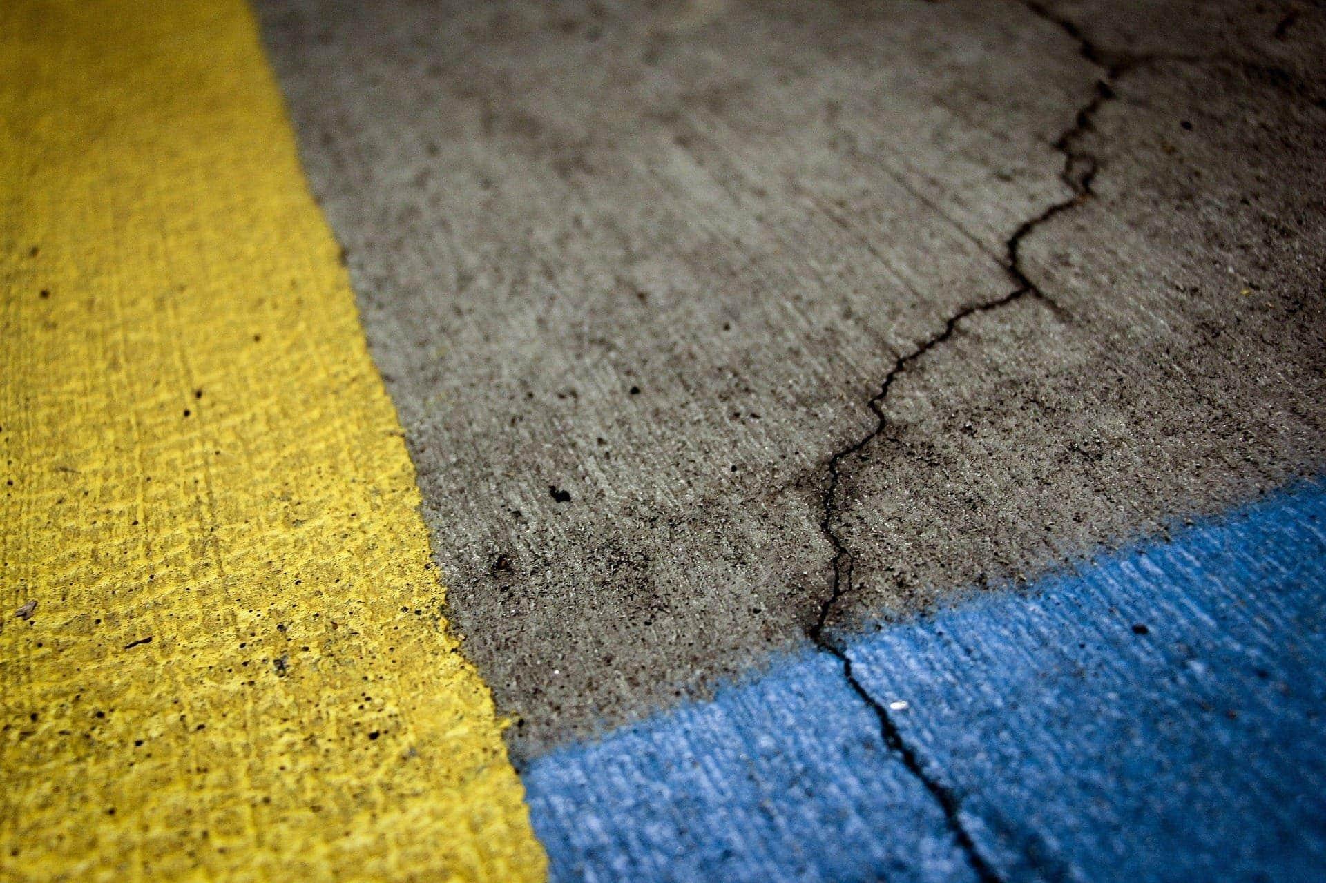 asfalto autorreparable carretera