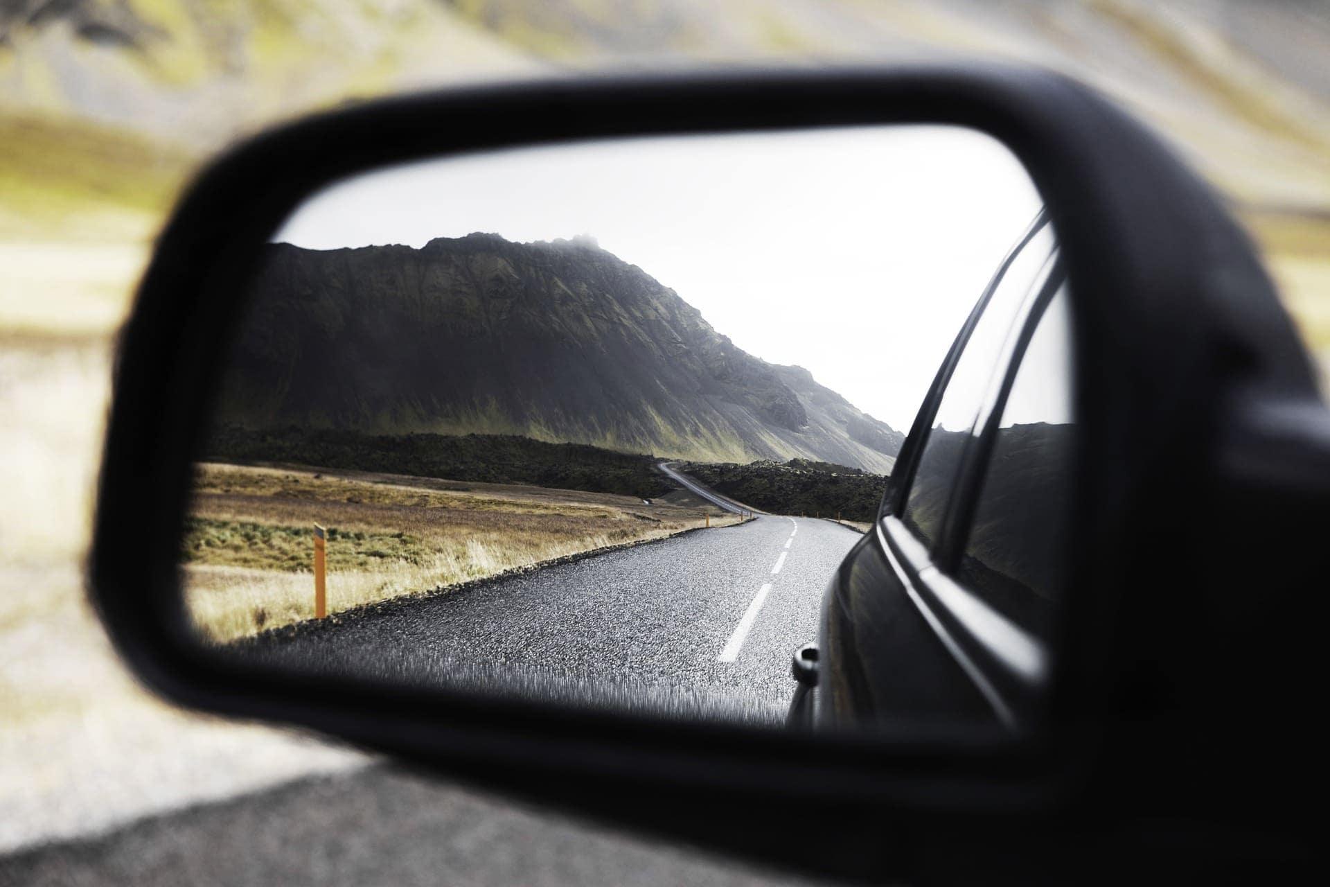 asfalto autorreparable reflexión coche