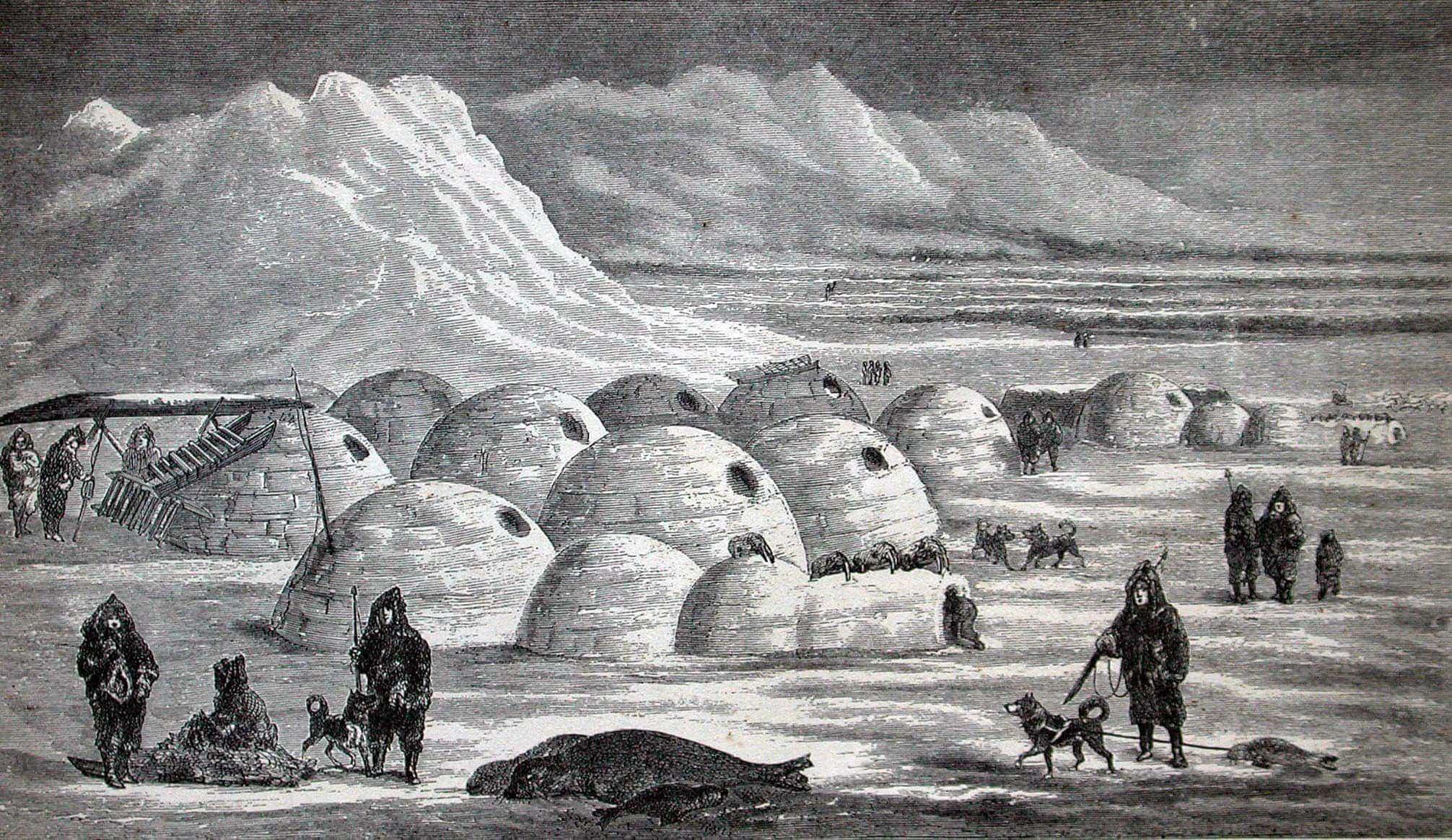 traditional architecture poblado inuit