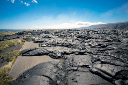 Volcanes Hawaianos carretera