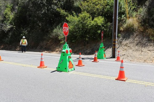 seguridad laboral controlo del tráfico