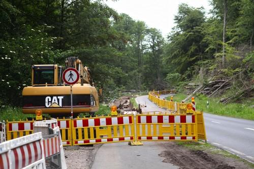 seguridad laboral construcción carreteras