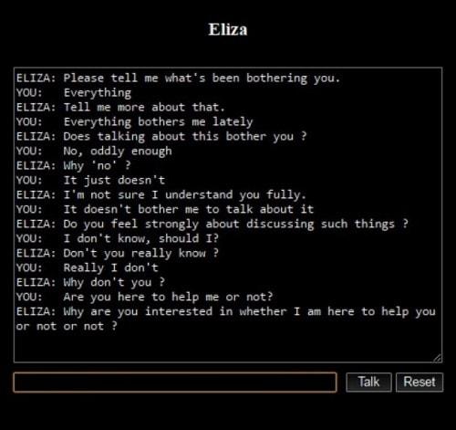 bots conversacionales eliza