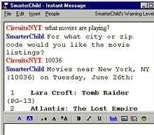 history of bots smarterchild bot